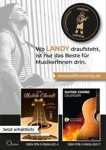 Edition Landy - Wo Landy draufsteht, ist nur das Beste für MusikerInnen drin